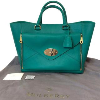 MULBERRY Emerald Willow Tote Large Size