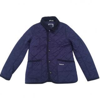 Barbour School coat - royal blue