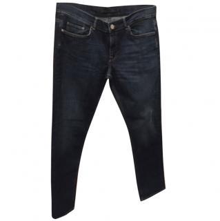 Victoria Beckham Boyfriend Jeans With Distressed Detailing Size 28
