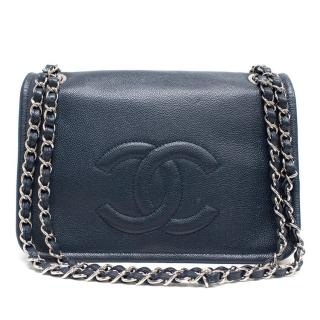Chanel Classic Navy Flap Bag