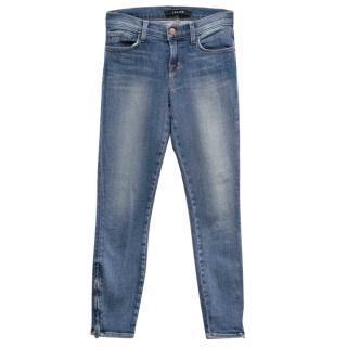 J Brand Light Mid Blue Skinny Jeans