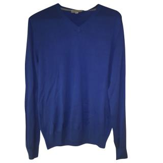 Canali men's blue sweater new