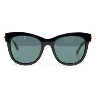 Georgio Armani Black and Gold 'AR8011' Sunglasses