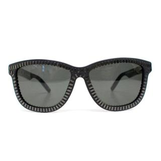 Alexander Wang x Linda Farrow Zipper Motif Sunglasses