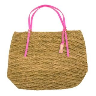 Michael Kors Woven Straw Tote