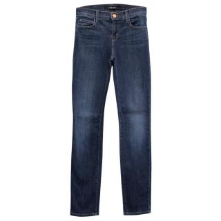 J Brand Mid Blue Skinny Jeans