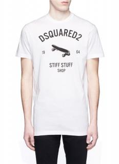 Dsquared2 Skateboard Print T-Shirt