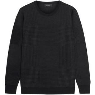 Theory houndstooth jumper