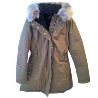 Scotch and Soda Moss Parka Coat - size M- New with tags