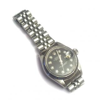 Ladies Stainless Steel Rolex Oyster Perpetual Datejust