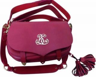 Ralph Lauren Red Military Bag