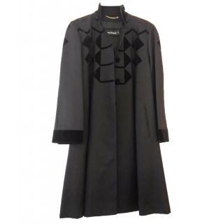 Louis Feraud black coat