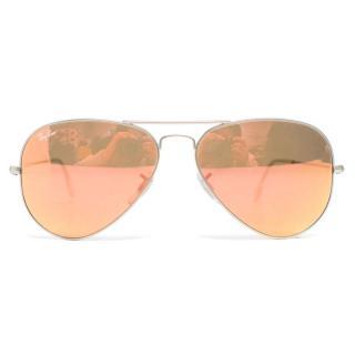 Ray Ban Tinted Aviator Sunglasses