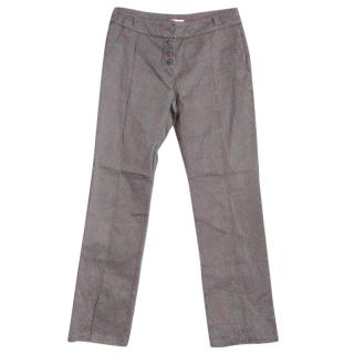 Max & Co Grey Straight Leg Trousers