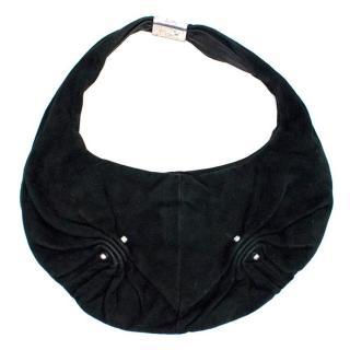 Yves Saint Laurent Black Small Suede Bag