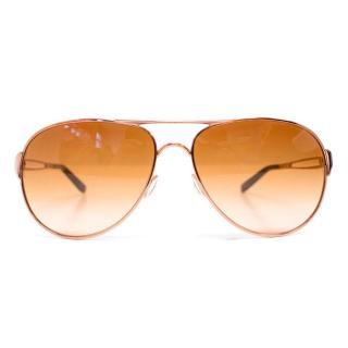 Oakley Rose Gold Aviator Sunglasses