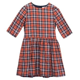 Marie Chantal Girl's Tartan Smock Dress