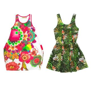 Desigual and Kenzo Girls Dresses