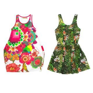 Desigual and Kenzo Girls Dresses