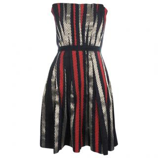 Marc by Marc Jacobs Rope Stripe Jacquard Dress
