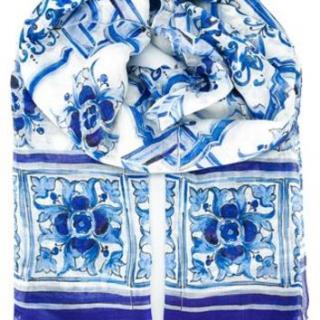 Dolce & Gabbana 'Majolica' Scarf