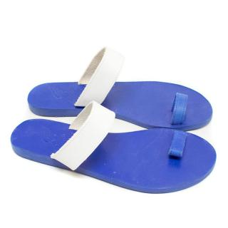 Ancient Greek Blue Thalia Sandals