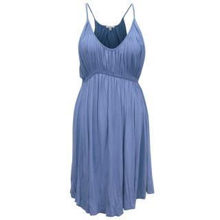 Clu Blue Knee Length Dress