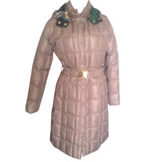 M Missoni elephant hooded puffer coat