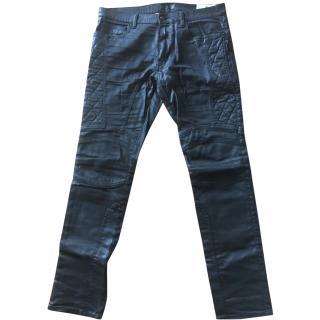 Belstaff Waxed biker jeans