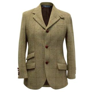 Polo Ralph Lauren Khaki Tweed Blazer