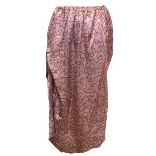 Vivienne Westwood Gold Label Pink Asymmetric Skirt