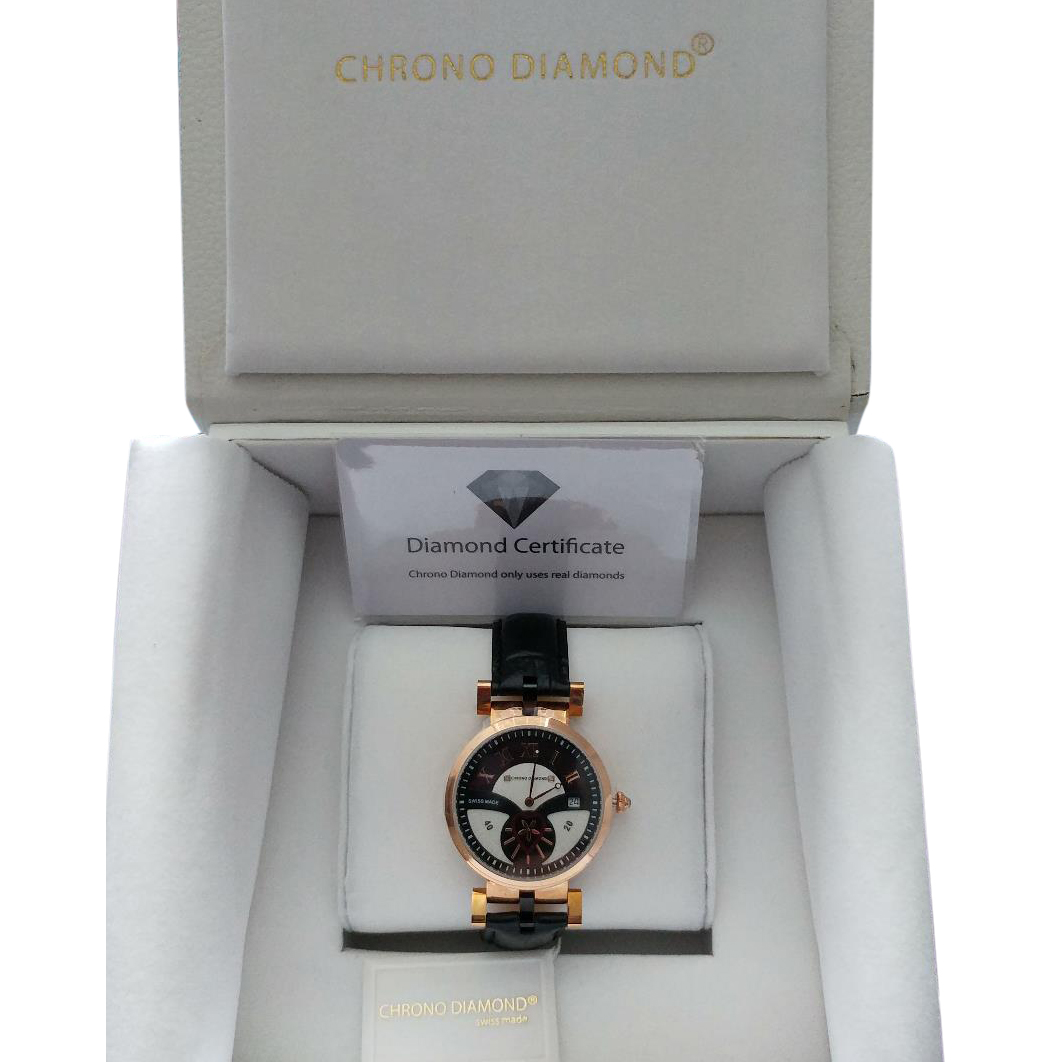 Chrono Diamond Watch Limited numbered edition