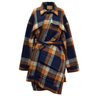 Vivienne Westwood Gold Label A/W15 Unisex Tartan Coat