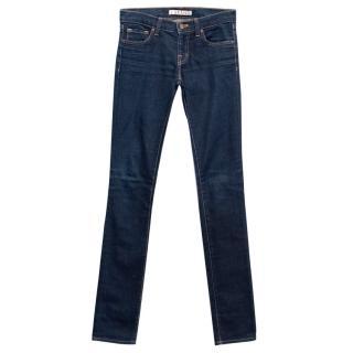 J Brand Dark Blue High Waisted Super Skinny Jeans