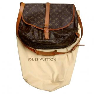 Louis Vuitton Saumur 35 monogram messenger saddle bag
