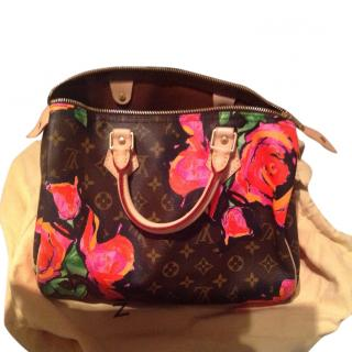 Limited Edition Speedy 30 Stephen Sprouse Roses Collection