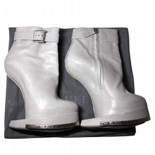 Alexander McQueen Runway Leather Horsehoe shoes it 39