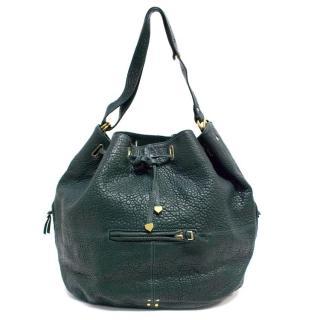 Jerome Dreyfuss Green Alain Leather Bag