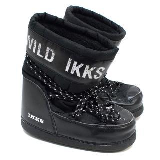IKKS Black Snow Boots