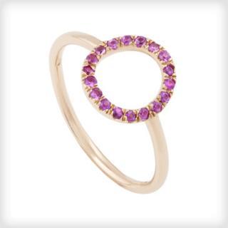 Catherine Budd Lumiere Pink Sapphire Ring RRP �1000
