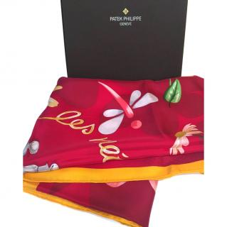 Patek Phillipe Limited Edition 2014 Silk Scarf