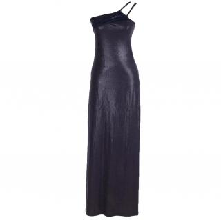 Versace Jeans Couture Wet look dress