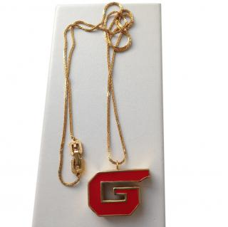 Givenchy 1979 ''Pop'' Chain with ''G'' Pendant