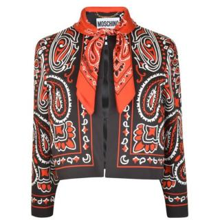 NEW MOSCHINO Bandana Jacket