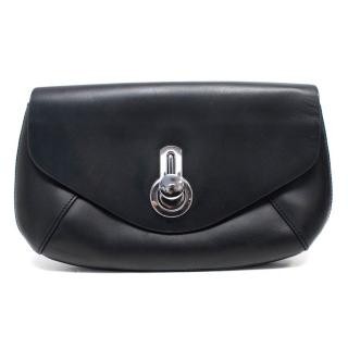 Raoul Black Leather 'Britt' Clutch