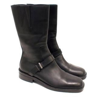 Gucci Black Flat Boots