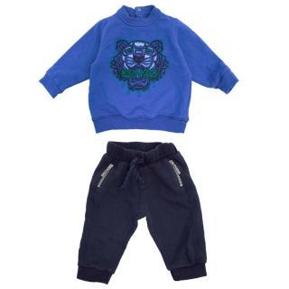 Kenzo Boy's Sweatshirt and Jogger Set