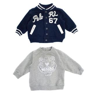 Kenzo and Ralph Lauren Boy's Jumper Set