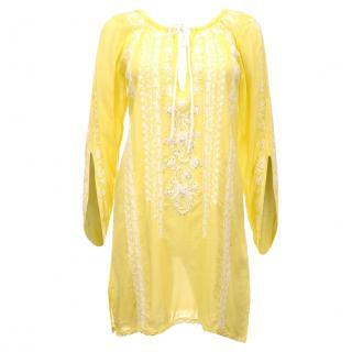 Melissa Odabash Embroidered Kaftan Dress