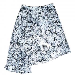 New Alexander McQueen McQ silk skirt